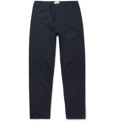Oliver Spencer Stretch-Cotton Drawstring Trousers