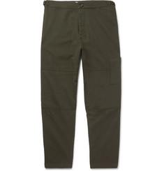 Oliver Spencer Judo Cropped Cotton Trousers