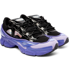 Raf Simons - + adidas Originals Ozweego III Canvas and Faux Leather Sneakers