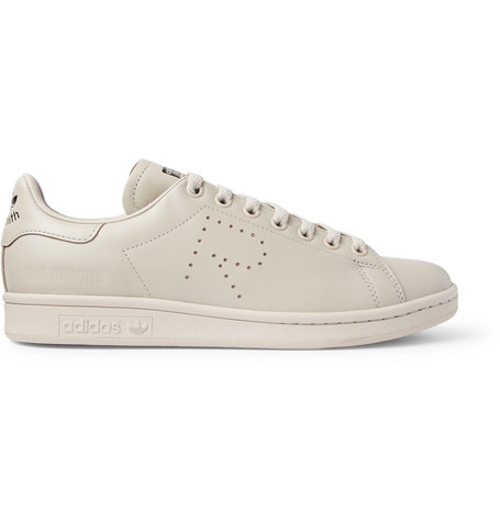 7d114b7a3290 RAF SIMONS ADIDAS ORIGINALS STAN SMITH LEATHER SNEAKERS