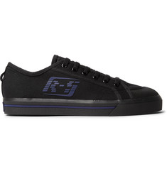 Raf Simons + adidas Originals Spirit Rubber-Trimmed Canvas Sneakers