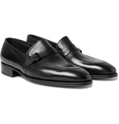 John Lobb - Alwyn Polished-Leather Loafers