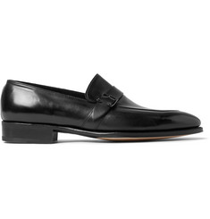 John Lobb Alwyn Polished-Leather Loafers