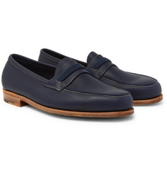 John Lobb Tore Leather Penny Loafers