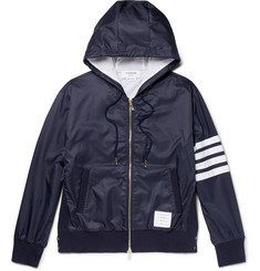 Thom Browne Striped Ripstop Hooded Jacket