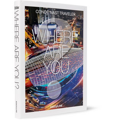 Assouline Condé Nast Traveller: Where Are You? Hardcover Book