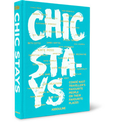 Assouline Chic Stays Hardcover Book