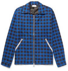 Rhude Buffalo-Checked Cotton-Flannel Jacket