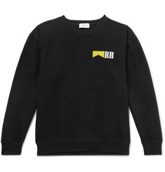 Rhude Printed Fleece-Back Cotton-Jersey Sweatshirt