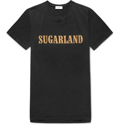 Rhude Oversized Printed Brushed-Cotton Jersey T-Shirt