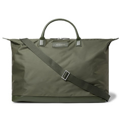 WANT LES ESSENTIELS - Hartsfield Leather-Trimmed Nylon Holdall