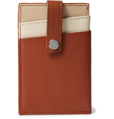 WANT LES ESSENTIELS - Kennedy Leather Cardholder with Money Clip