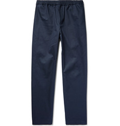 Fanmail Organic Cotton-Twill Drawstring Trousers