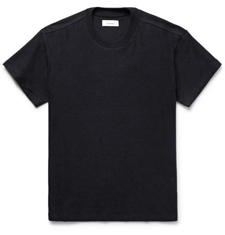 Fanmail Hemp And Organic Cotton-blend Jersey T-shirt - Black