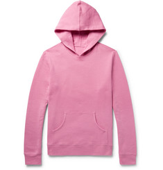 The Elder Statesman Fleece-Back Cotton-Jersey Hoodie