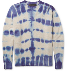 The Elder Statesman - Tie-Dyed Cashmere Sweater