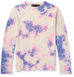 The Elder Statesman Slim-Fit Tie-Dyed Cashmere Sweater