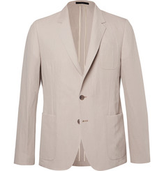Paul Smith Beige Soho Slim-Fit Linen and Cotton-Blend Suit Jacket