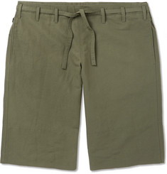 Paul Smith Linen and Cotton-Blend Drawstring Shorts