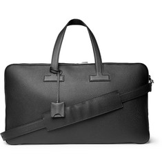 TOM FORD - Full-Grain Leather Holdall