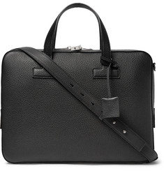 TOM FORD T Full-Grain Leather Briefcase