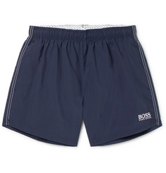 Hugo Boss Short-Length Embroidered Shell Swim Shorts