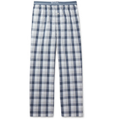 Hugo Boss - Checked Cotton Pyjama Trousers