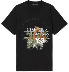Y-3 Printed Cotton-Jersey T-Shirt