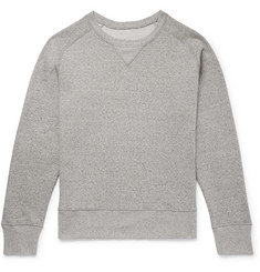 Secondskin Slim-Fit Loopback Cotton-Jersey Sweatshirt