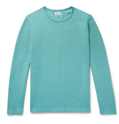 Hartford Slim-Fit Loopback Cotton-Jersey Sweatshirt