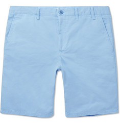 Norse Projects Aros Garment-Dyed Cotton-Twill Shorts