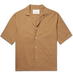 Studio Nicholson Camp-Collar Cotton Shirt