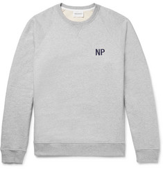 Norse Projects Ketel Embroidered Loopback Cotton-Jersey Sweatshirt