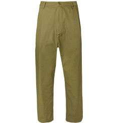 Studio Nicholson Buzzard Garment-Dyed Cotton Trousers
