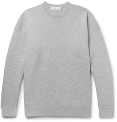 Studio Nicholson Sixty Double-Faced Mélange Cashmere and Cotton Sweater
