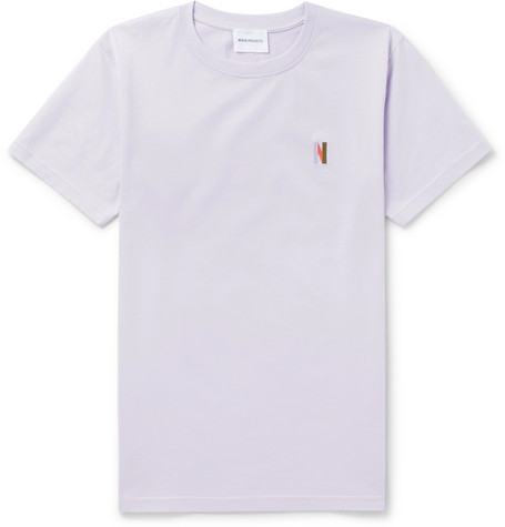 Niels Embroidered Cotton Jersey T Shirt by Norse Projects