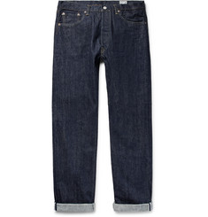 OrSlow 105 Rinsed Selvedge Denim Jeans