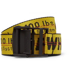 Off-White - Industrial Embroidered Canvas Belt