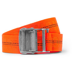 Off-White - 3.5cm Orange Webbing Belt