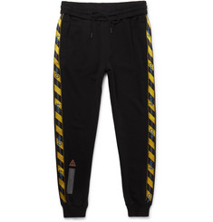 Off-White Cotton-Jersey Sweatpants