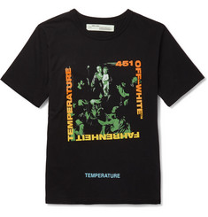 Off-White Caravaggio Printed Cotton-Jersey T-Shirt