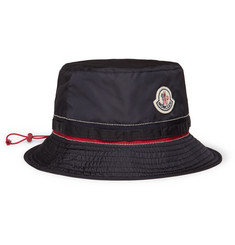 Moncler Appliquéd Shell Bucket Hat