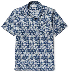 Hartford Slam Camp-Collar Printed Cotton Shirt