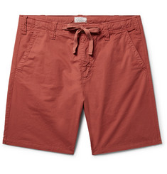 Hartford Slim-Fit Cotton-Twill Drawstring Shorts