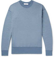 John Elliott Fleece-Back Cotton-Blend Jersey Sweatshirt