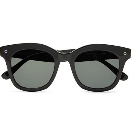 D Frame Acetate Sunglasses by John Elliott