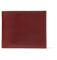 George Cleverley Horween Shell Cordovan Leather Billfold Wallet