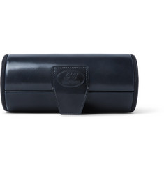 George Cleverley Horween Shell Cordovan Leather Watch Roll