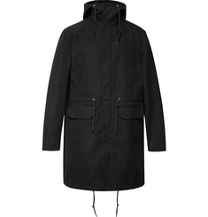 Raf Simons Oversized Panelled Cotton-Canvas Parka