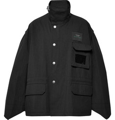 Raf Simons Oversized Cotton and Nylon-Blend Twill Jacket